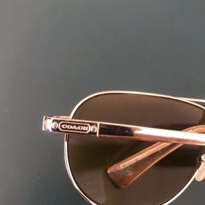Gently used Coach Sunglasses without the case.